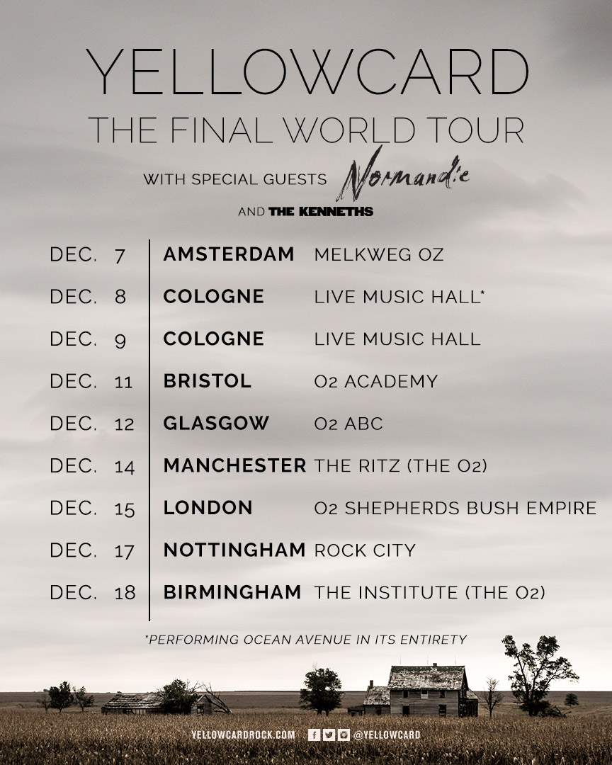 Yellowcard World Tour (UK)